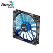 《Aero Cool》鯊魚散熱LED風扇12cm (三色)(紅光)