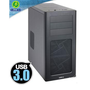 《聯力 LianLi》PC-7HX 中塔型 全黑化 全鋁製 ATX / Micro ATX 電腦機殼