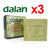 《DALAN》土耳其月桂橄欖手工皂3入組(170g*3)