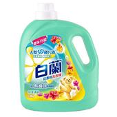 《白蘭》含熊寶貝馨香精華洗衣精-花漾清新(2.8kg/瓶)