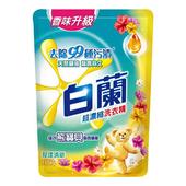 《白蘭》含熊寶貝馨香精華洗衣精補充包-花漾清新(1.65kg/包)