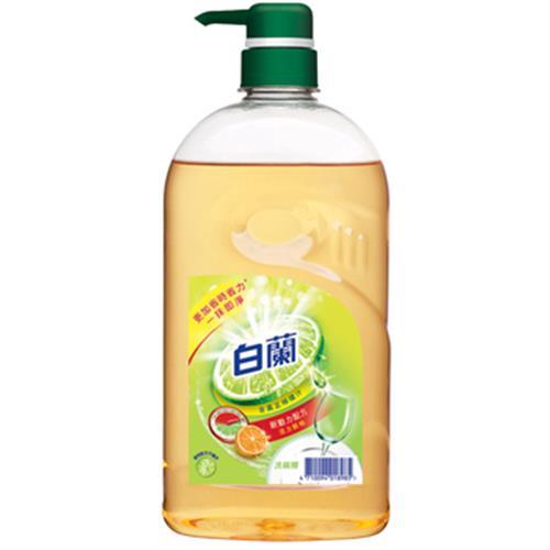 白蘭 動力配方洗碗精-鮮柚(1kg/瓶)