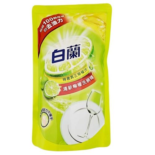 白蘭 動力配方洗碗精補充包-檸檬(800g/包)