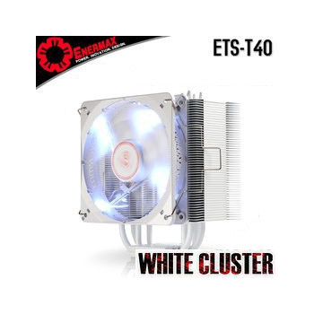 保銳 Enermax 白蝠 白光 CPU 散熱器(ETS-T40-W)