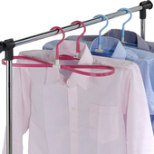 《多麼潔》8字型曬衣快乾多用途衣架6入(藍色)