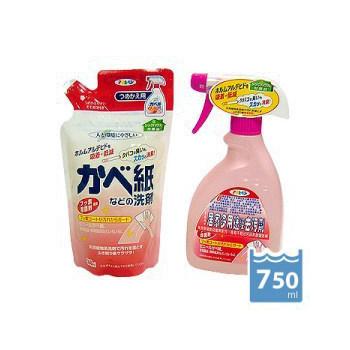 日本《Asahipen》居家多用途泡沫去污劑手噴瓶400ml+補充包350ml(1組)