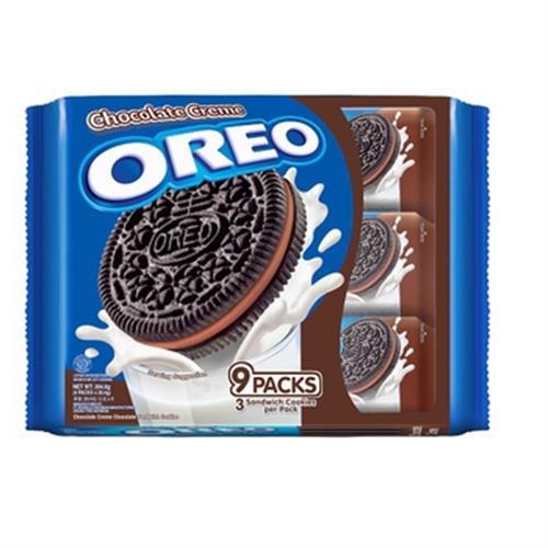 奧利奧 巧克力夾心隨手包9入(264.6g/盒)