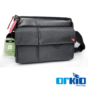 ORKIO ESSENTIAL FOTO 限量經典側背包(中)(黑)