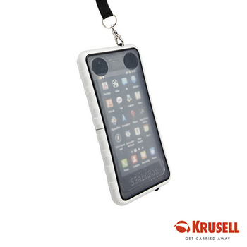 KRUSELL SEaLABox 手機防水殼 XL (IPX7/HTC/S2/iPhone5/Xperia S)(白色)