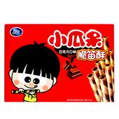 《可口》小瓜呆脆笛酥巧克力量販包(210g/盒)