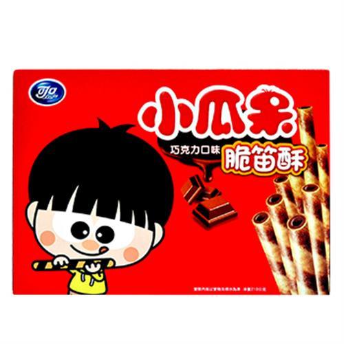 可口 小瓜呆脆笛酥巧克力量販包(210g/盒)