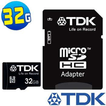 TDK 32GB microSDHC Class10 記憶卡