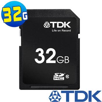 TDK 32GB SDHC Class10 高速記憶卡贈專用讀卡機
