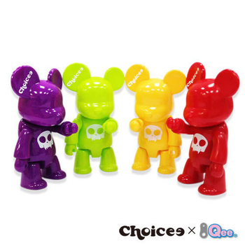Choicee x Qee 8GB第二代公仔熊隨身碟~新色發表(蘋果綠)