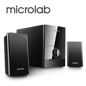 《Microlab福利品》M-500U  2.1雅緻_武聲 精品多媒體喇叭