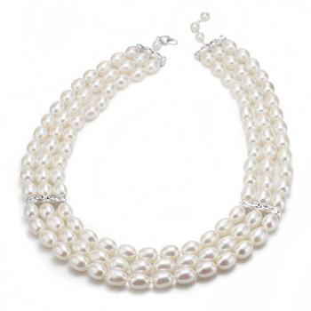 大東山珠寶 英倫玫瑰 珍珠項鍊