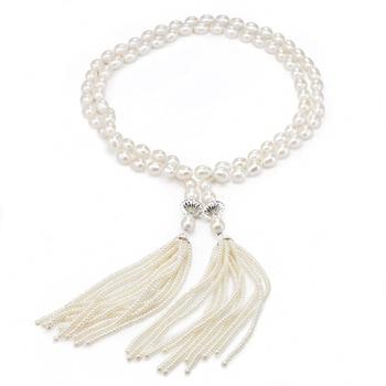 大東山珠寶 璀璨垂珠 珍珠項鍊(大)
