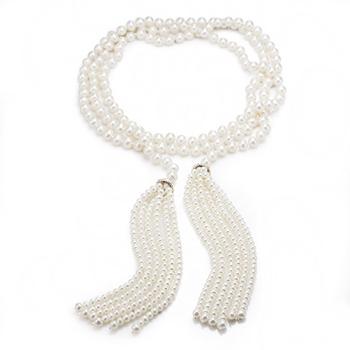 大東山珠寶 璀璨垂珠 珍珠項鍊(小)