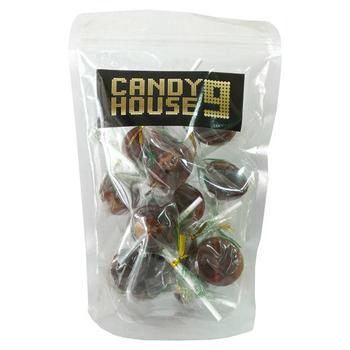 CANDY HOUSE 9 小梅心麥芽棒棒糖(黑糖)-200g
