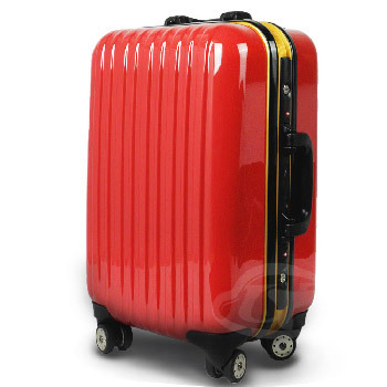 LEADMING 前衛狂想拉桿旅行箱-20吋(紅色)