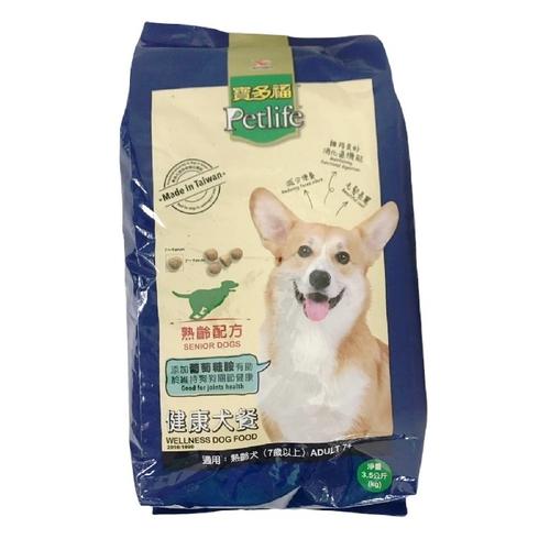 《寶多福》健康犬餐(熟齡犬專用配方3.5Kg/袋)