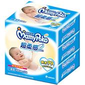 《滿意寶寶》超柔感純水濕巾-一般型100片*3包/組 $142