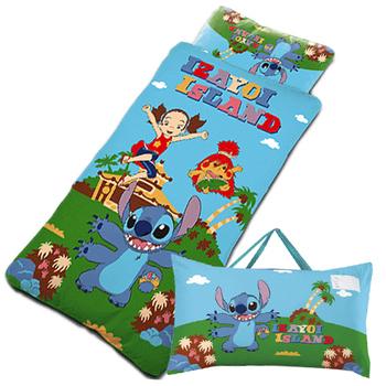 【史迪奇-遊戲篇】幼教兒童睡袋(4*5尺)(藍)