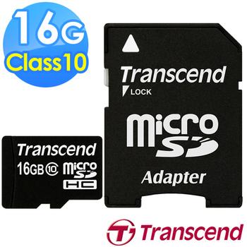 Transcend 創見 16G microSDHC Class10 記憶卡