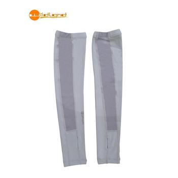 WildLand荒野 中性開洞UV透氣袖套-91淺灰(M)