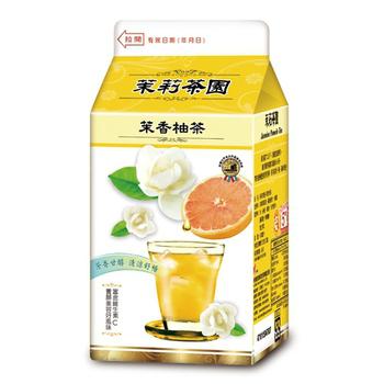光泉 茉莉茶園-茉香柚茶(400ml/瓶)