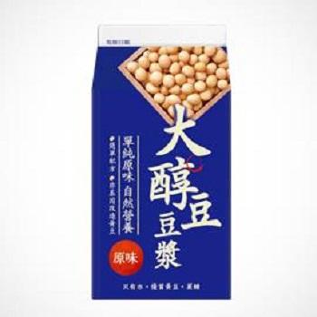 味全 大醇豆豆漿 - 原味(400ml /盒)