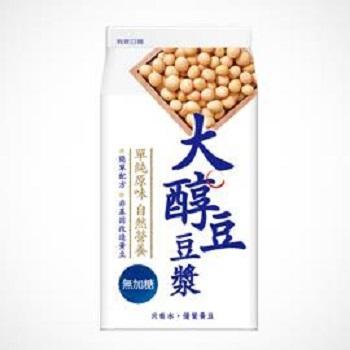 味全 大醇豆豆漿 - 無加糖(400ml /盒)