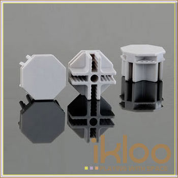 ★結帳現折★ikloo 12吋百變收納櫃延伸配件-接頭10入一組