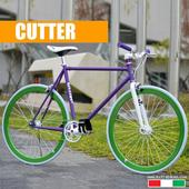 《EXTRA+》單速車 700C 義大利血統精品車CUTTER(50)