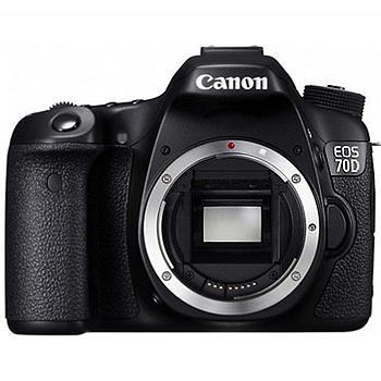 Canon 70D單機身(公司貨)★送32G SD記憶卡+專用電池+減壓背帶+專用熱靴蓋