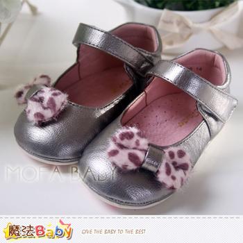 魔法Baby 點點蝴蝶結娃娃鞋/女童鞋~sh2952(13cm(13.5))