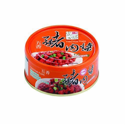 台糖 安心豚豬肉醬-五香(160g*3罐/組)