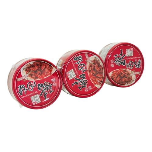 《台糖》安心豚豬肉醬-香辣(160g*3罐/組)