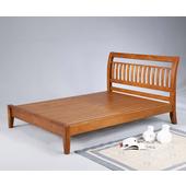 曼尼實木雙人床(5尺)