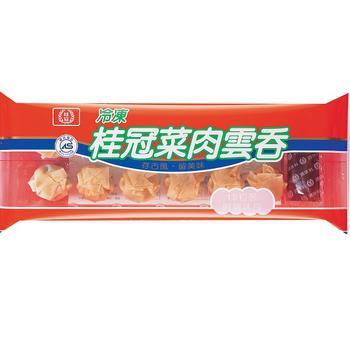 桂冠 菜肉雲吞(220g(12粒)/盒)