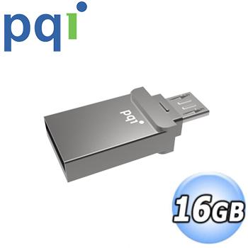PQI 勁永 Connect 201 micro USB USB2.0 16G 雙介面隨身碟