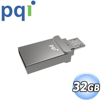 PQI勁永 Connect 201 micro USB USB2.0 32G 雙介面隨身碟