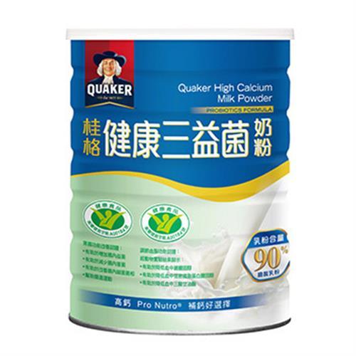 桂格 三益菌高鈣奶粉(1500g/罐)
