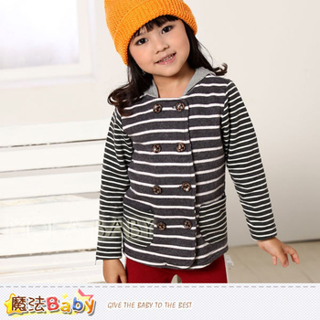 魔法Baby DODOMO品牌~韓版雙排扣連帽外套/上衣~k29833(7)