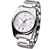 《Calvin Klein》紳士極簡風鋼帶腕錶K0K21120