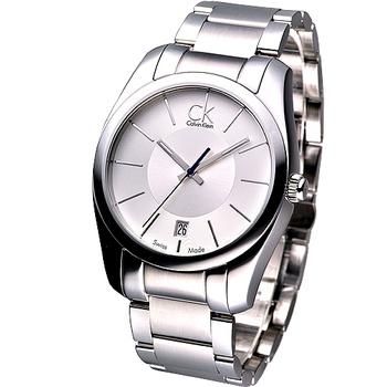 Calvin Klein 紳士極簡風鋼帶腕錶K0K21120