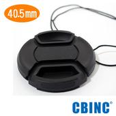 《CBINC》40.5mm 夾扣式鏡頭蓋 - 附繩(40.5mm)贈GT-02桌上腳架