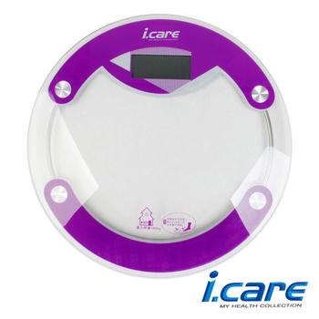 《艾可兒》【JOEREX】i.CARE 健康秤/鋼化玻璃電子秤/體重器(JBF10634)