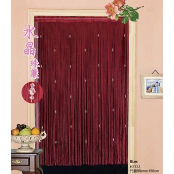 櫻之舞 水晶珠簾-90*150cm