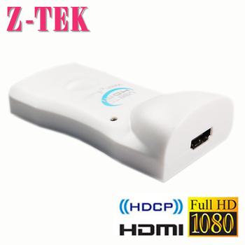 Z-TEK USB2.0 TO HDMI 轉接器(白色(NE674))
